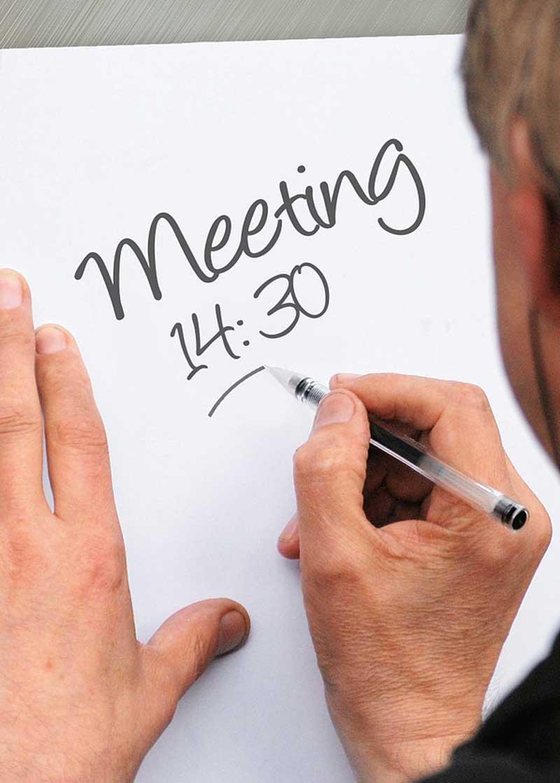 la gestione del tempo attraverso l'utilizzo dell'agenda, il cosiddetto time management, aiuta l'imprenditore ad organizzare la sua giornata